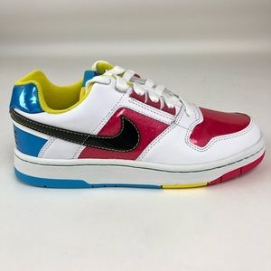 Nike Delta Force Low Big Kids Rainbow Shoes